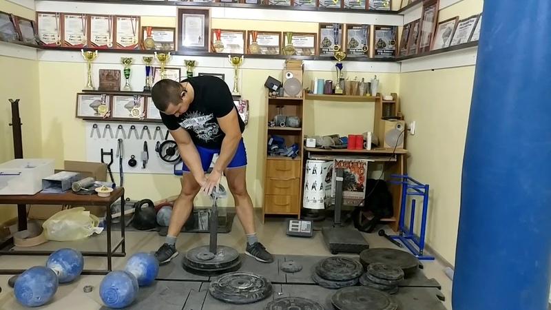 Vitaliy Bobyrev CRAB4 LIFT LEFT HAND - 28,75 kg