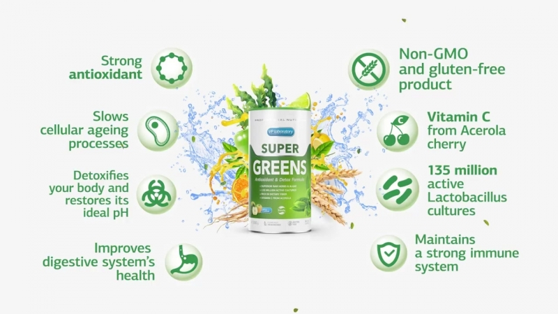Super Greens VPLab Nutrition