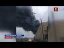 В Питере локализован мощный пожар в торговом центре
