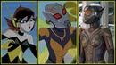 Wasp Evolution in Movies Cartoons Janet van Dyne/Hope van Dyne 2018