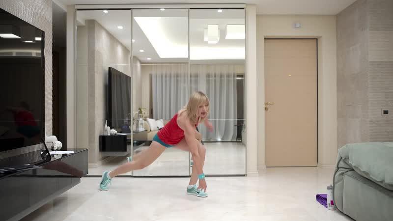 Жиротоп тренировка 2, 1 упражнение