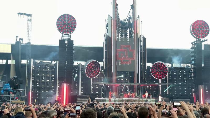 Rammstein Tour - Ostseestadion - Rostock - 16.06.2019