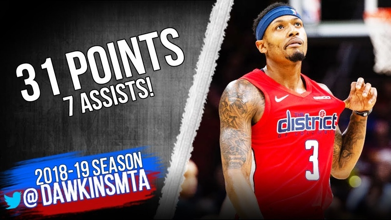 Bradley Beal Full Highlights 2019.01.29 Wizards vs Cavs - 31 Pts, 7 Assists! | FreeDawkins