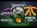 (RU 1) Winstrike Team vs Fnatic - International 2018 (17.08.18)