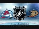 Colorado Avalanche vs Anaheim Ducks 18 11 2018 NHL Regular Season 2018 2019