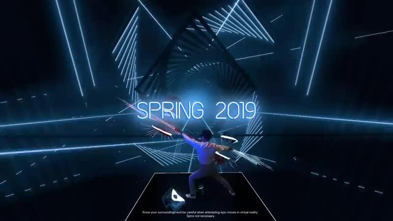 Beat Saber анонс для Oculus Quest