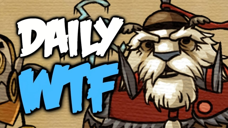 Dota 2 Daily WTF - Nobody expects the spanish inquisition