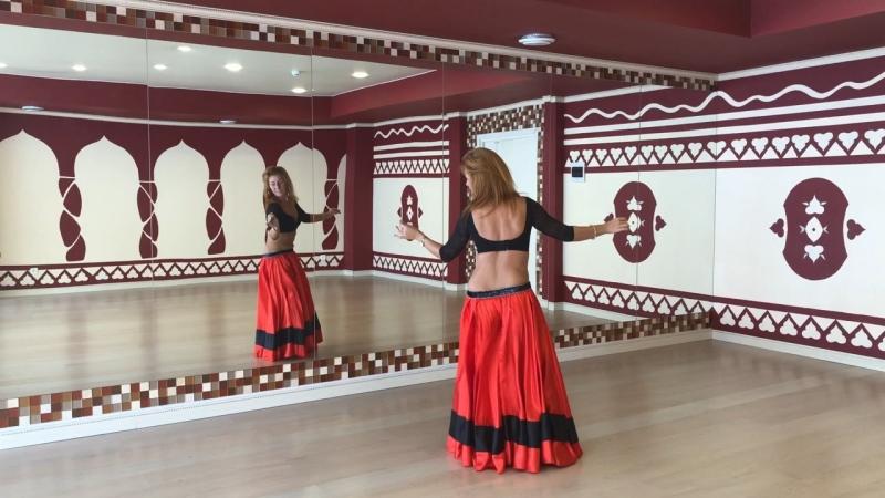 Связка 7 от Елены Амани ( учим танец живота самостоятельно)