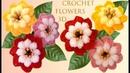 Como hacer flores muy fácil a Crochet en punto 3D tejido tallermanualperu