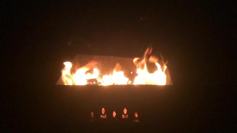 Огонь замедленно