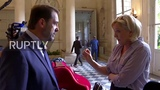 France Le Pen and Castaner have war of words over Benalla case