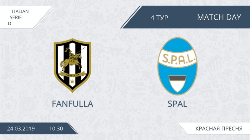 AFL19. Italy. Serie D. Day 4. Fanfulla - Spal