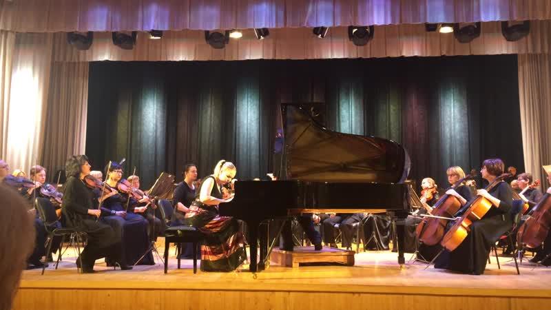 Липецкий симфонический оркестр солистка Анастасия Максюта США 2