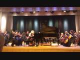 Концерт №1 П.И. Чайковского для фортепиано с оркестром си-бемоль минор, ор. 23. Исполнитель  Анастасия Максюта (США)2