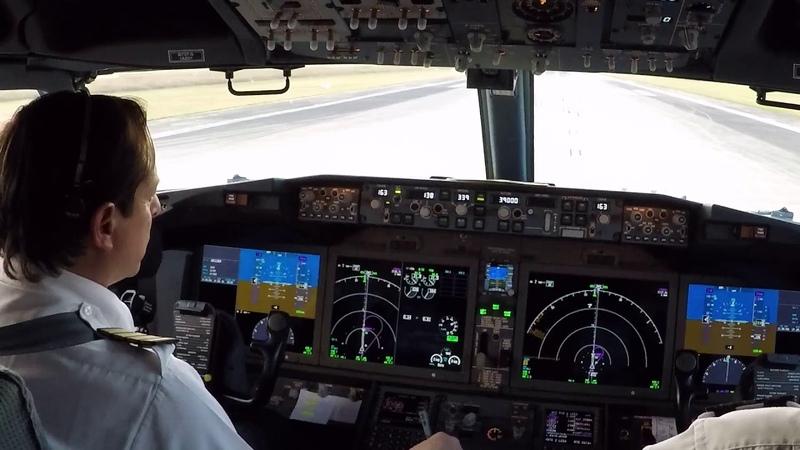 Boeing 737 MAX 8 - Procedimiento de encendido y despegue - Pista 34 - Santa Cruz - Bolivia