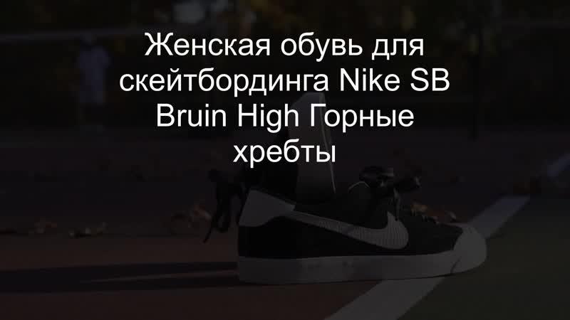 Женская обувь для скейтбординга Nike SB Bruin High Горные хребты