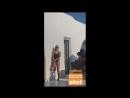 Инстаграм-история Келии Термини (видео с Клэр Холт)