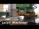 Metal punching machine,NC servo straightener feeder uncoiler