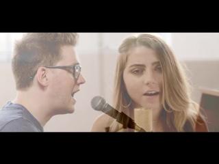 Шикарный вокальный кавер Happy Now - Zedd (ft. Elley Duhé) от Alex Goot & Jada Facer