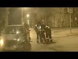 Пьяный таксист ударил активиста движения Ночной патруль