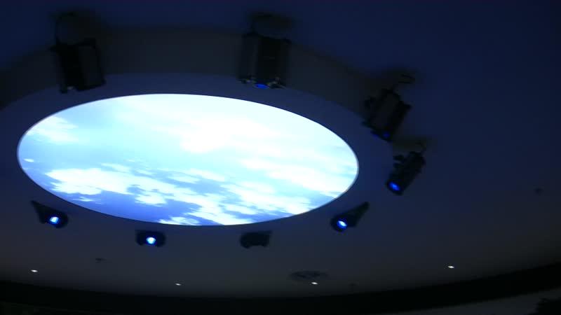 Многоэкранный проекционный Fusion большой экран