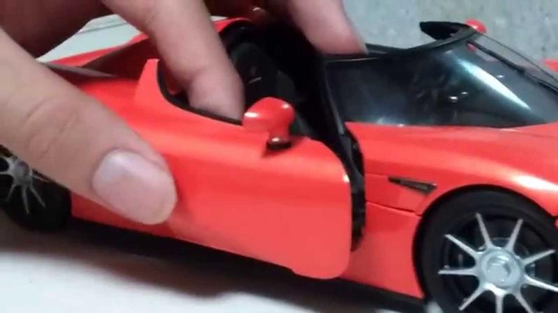 Part 1 118 Autoart Koenigsegg CCX Review