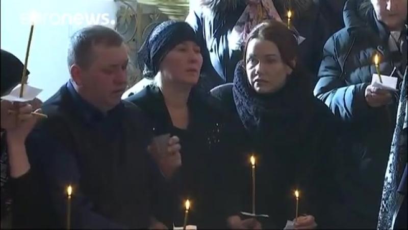 В Кемерове хоронят погибших детей