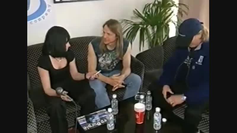 Башня(РТР, 1998)Интервью Лизы Олиферовой с группой Deep Purple