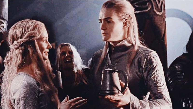 Legolas and Eowyn - I shouldnt (multi crossover)