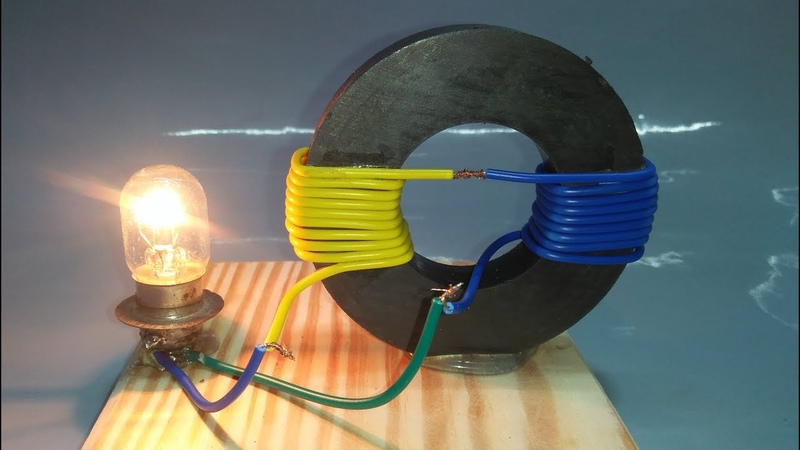 Free Energy Generator Magnet Coil 100 Real New Technology New Idea Project