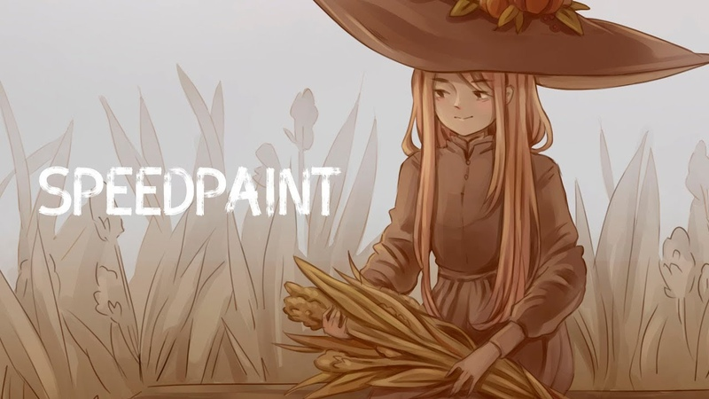October Witch (speedpaint)