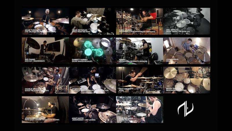 Aric Improta | 15 drummers 1 Song Chops