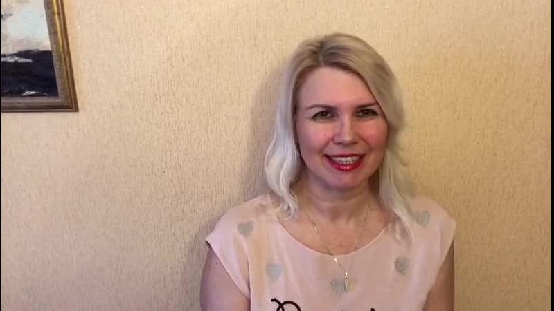 Видеоприглашение Ирины Улыбиной на девичник 20 апреля