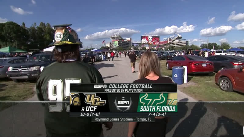 NCAAF 2018 / Week 13 / (9) UCF Knights - South Florida Bulls / 1H / EN