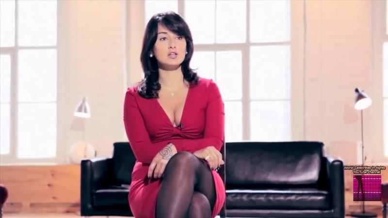 Тина Канделаки в колготках 1   Tina Kandelaki tights 1