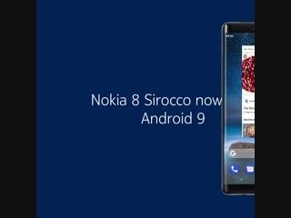 Nokia 8 Sirocco Pie