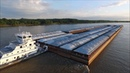 The M/V Ginny Stone Pushing 49 Barges!