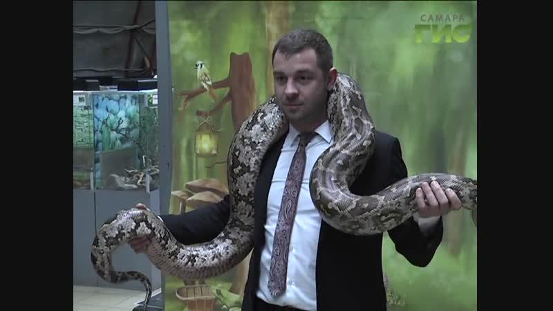 В Международный день прав животных Самарский зоопарк посетил глава Октябрьского района