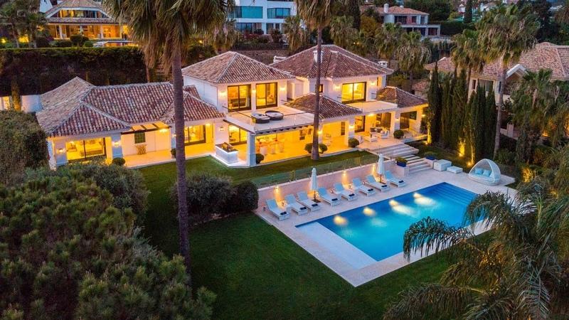 Marvellous Modern Luxury Villa La Cerquilla Nueva Andalucía Marbella Spain 5 500 000€