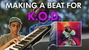 MAKING A BEAT FOR K.O.D. BY J. COLE - FL STUDIO BEATMAKING