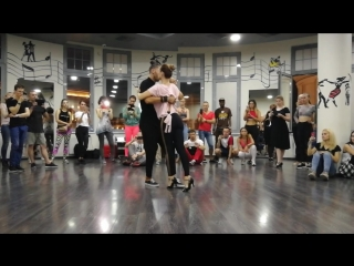 Fred Nelson & Julia Permikina - Kizomba with tango influence