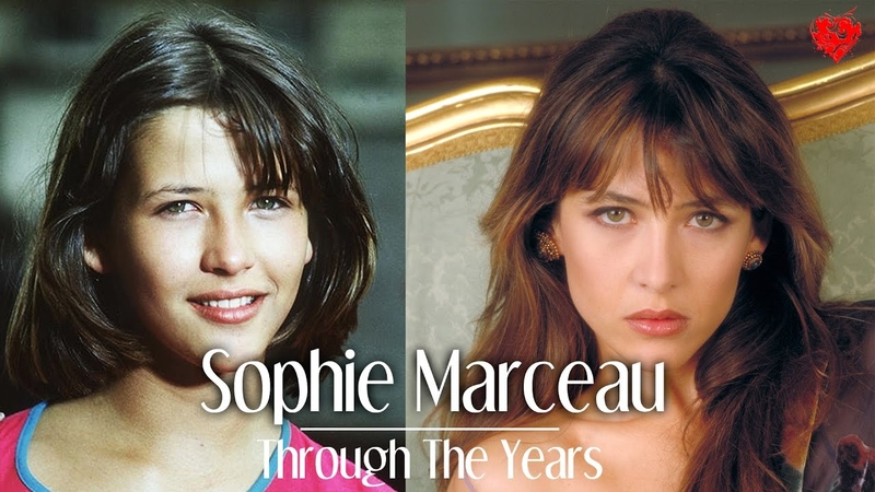 Sophie Marceau From 3 to 50 Years Old Through The Years