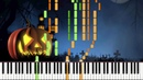 Wistful Waltz - Halloween Composition Piano Duet Synthesia Dot Piano