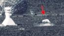 UFO Landed Near Radio Telescope Radar Dish