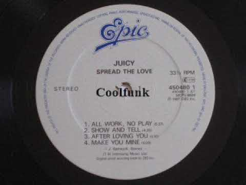 Juicy - Show And Tell (Electro-Funk 1987)