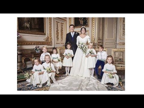 PRINCESS EUGENIES OFFICIAL WEDDING PHOTOS (WITH NAMES)