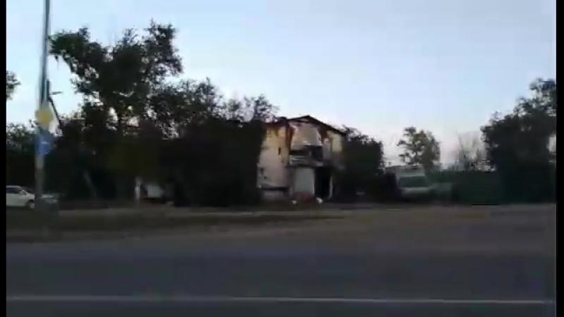 сгоревшая гостиница