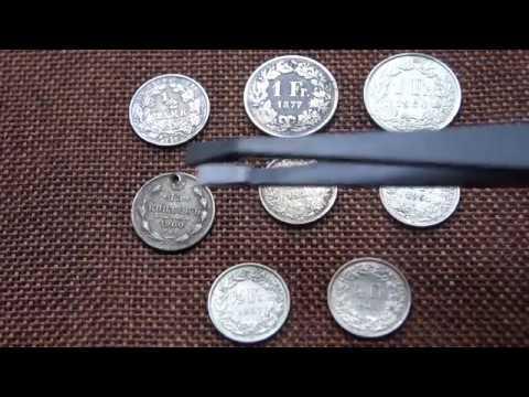 Срібні Монети і Чистка Срібних Монет засобом Трилон Б