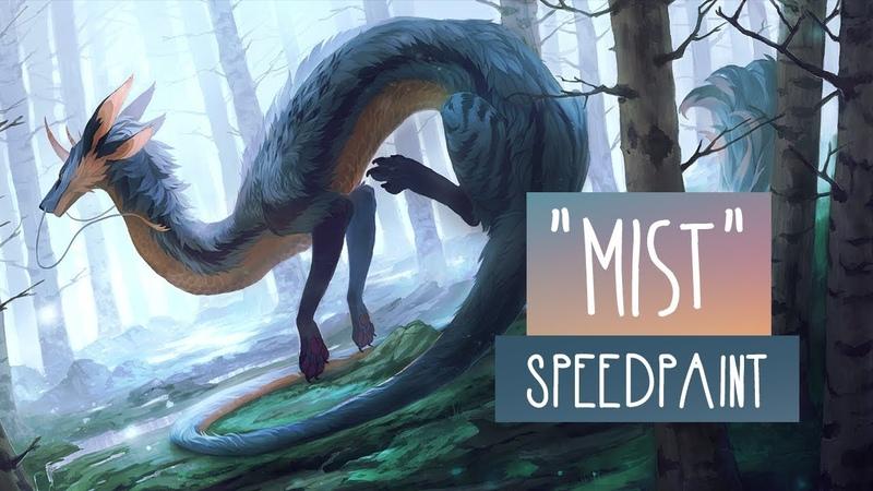 Mist SPEEDPAINT Photoshop CC