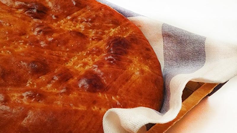 Армянский круглый гата Կլոր գաթա Armenian gata recipe